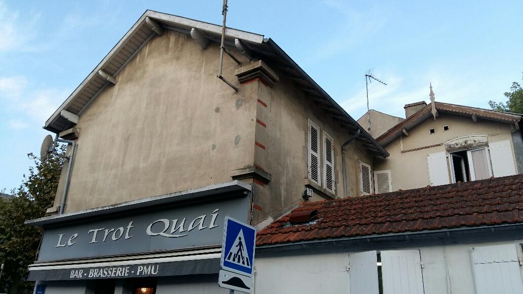 Maison Guiton état initiale pignon