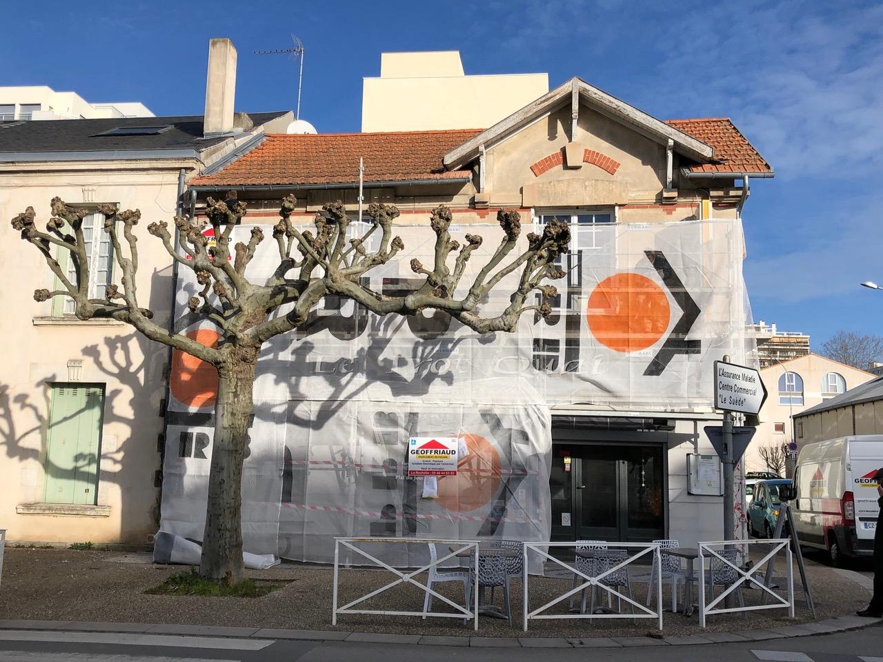 Maison Guiton en chantier protégé